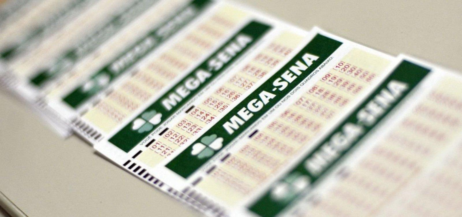 Mega-Sena: ninguém acerta as seis dezenas e prêmio acumula em R$ 25 milhões
