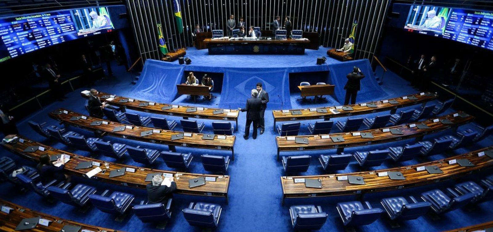 Em home office, Senado paga R$ 740 mil em hora extra a servidores