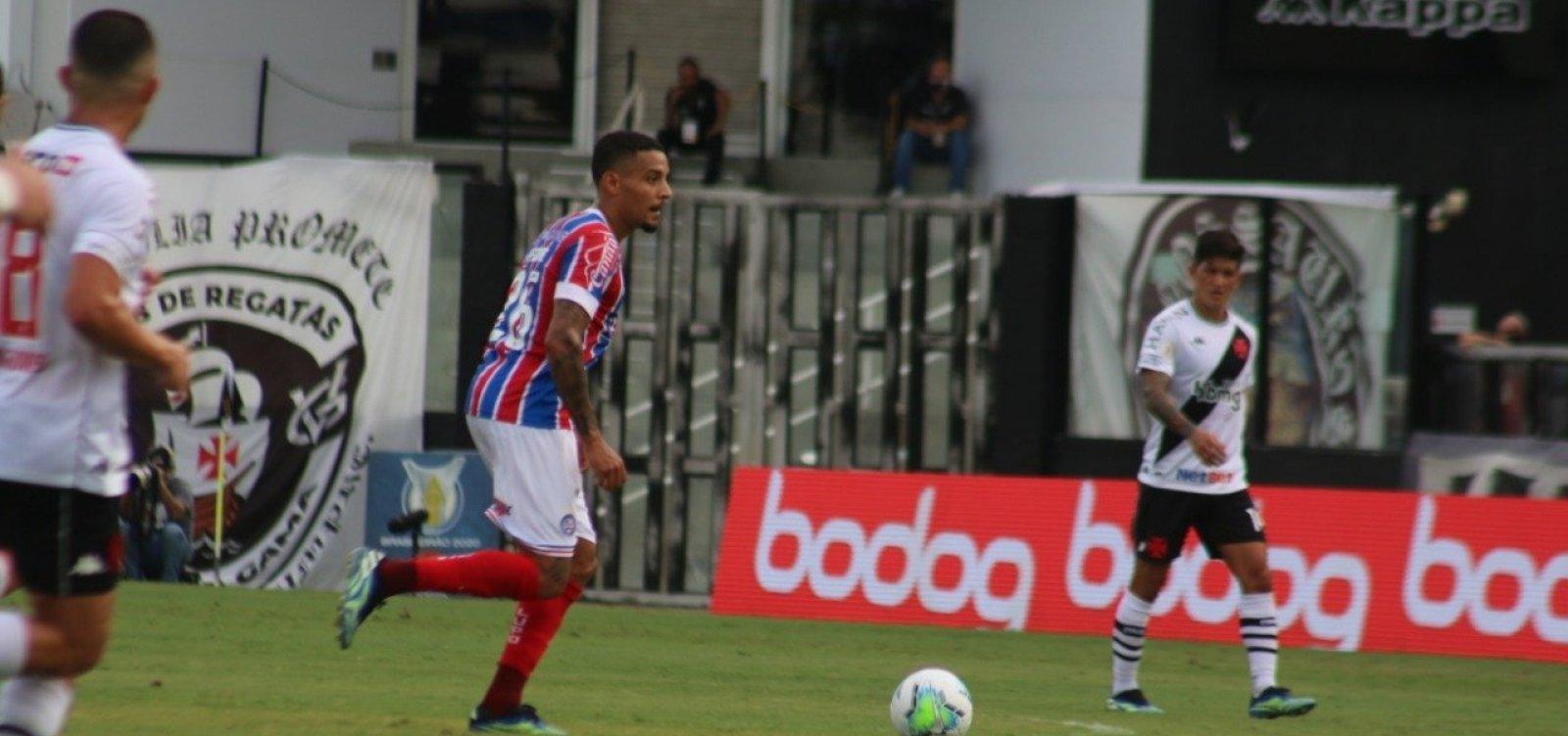 Bahia e Vasco empatam sem gols pela Série A