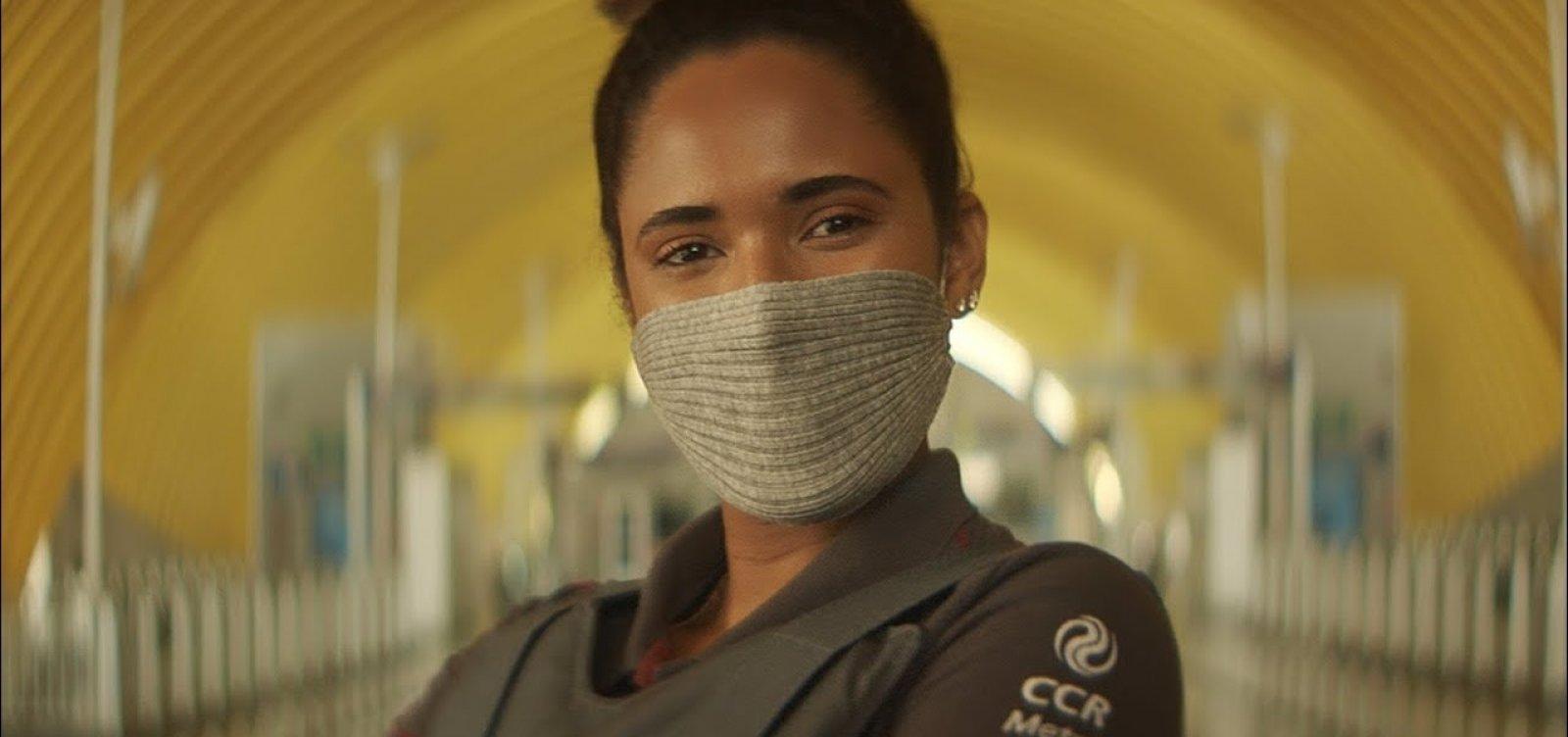 CCR usa máscara condenada pela comunidade científica em propaganda