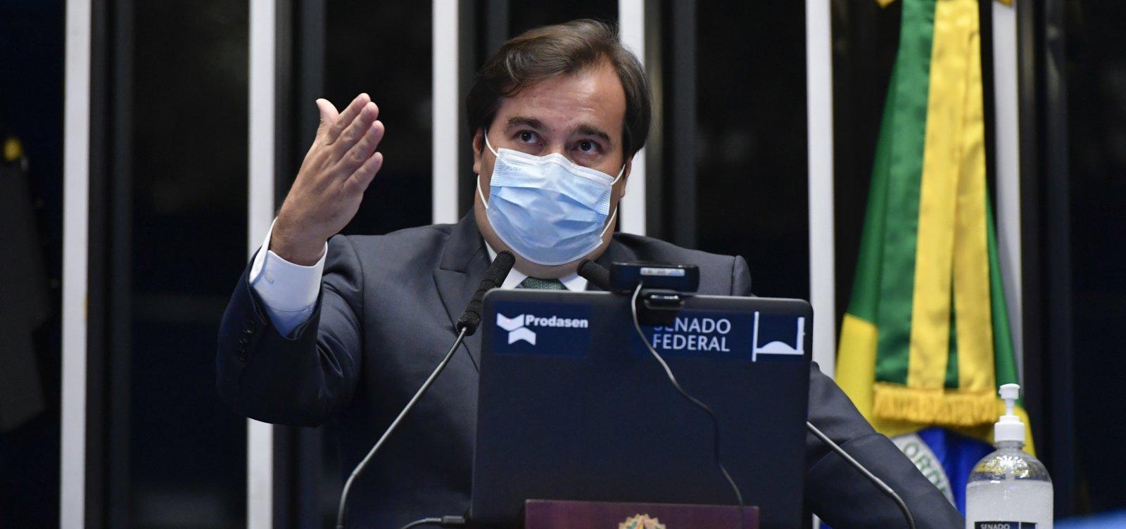 Rodrigo Maia decide deixar o Democratas após eleição na Câmara