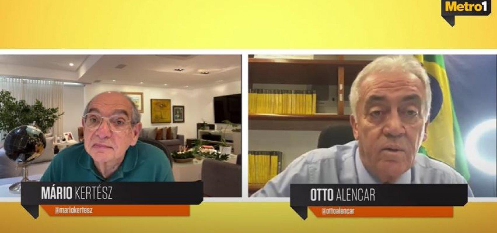Otto elogia trajetória de Rodrigo Pacheco e avalia eleição de democrata para presidência do Senado