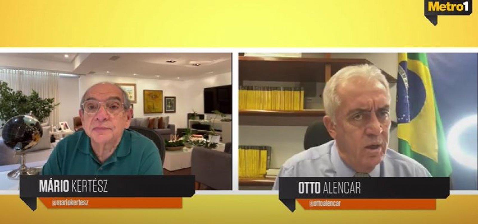 'Se Lira ganhar, entra com apoio, mas as coisas podem mudar', diz Otto