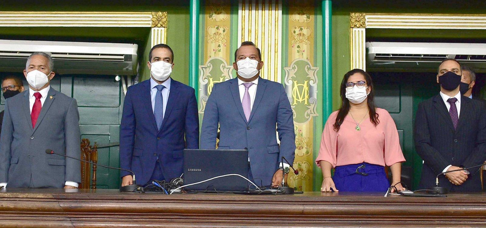 19ª legislatura da Câmara de Vereadores de Salvador dá início aos trabalhos
