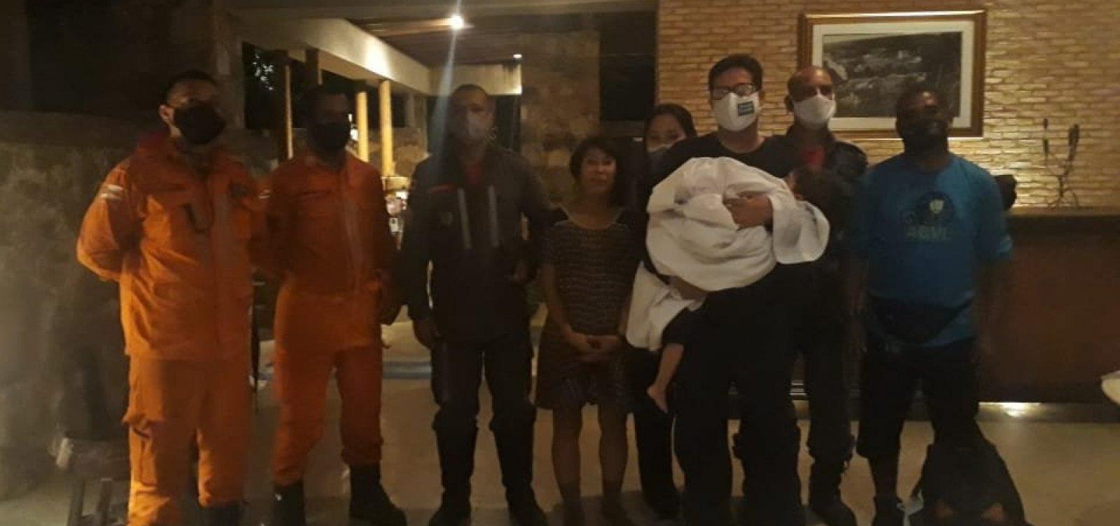 Bombeiros resgatam turista sul coreana perdida em trilha na Chapada Diamantina