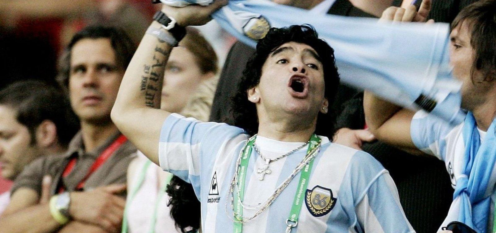'Meu tio não queria mais viver', revela sobrinho de Maradona à TV argentina