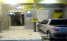 Araçás: grupo arromba agência dos Correiros e atira contra delegacia