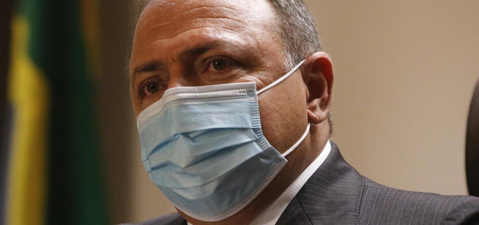 Após solicitação da Câmara, Pazuello apresenta campanha contra Covid-19 da gestão Mandetta