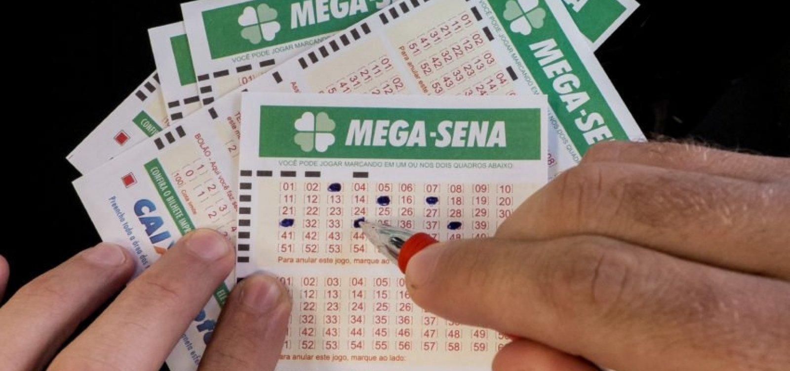 Mega-Sena pode pagar prêmio de R$ 25 milhões nesta quarta-feira