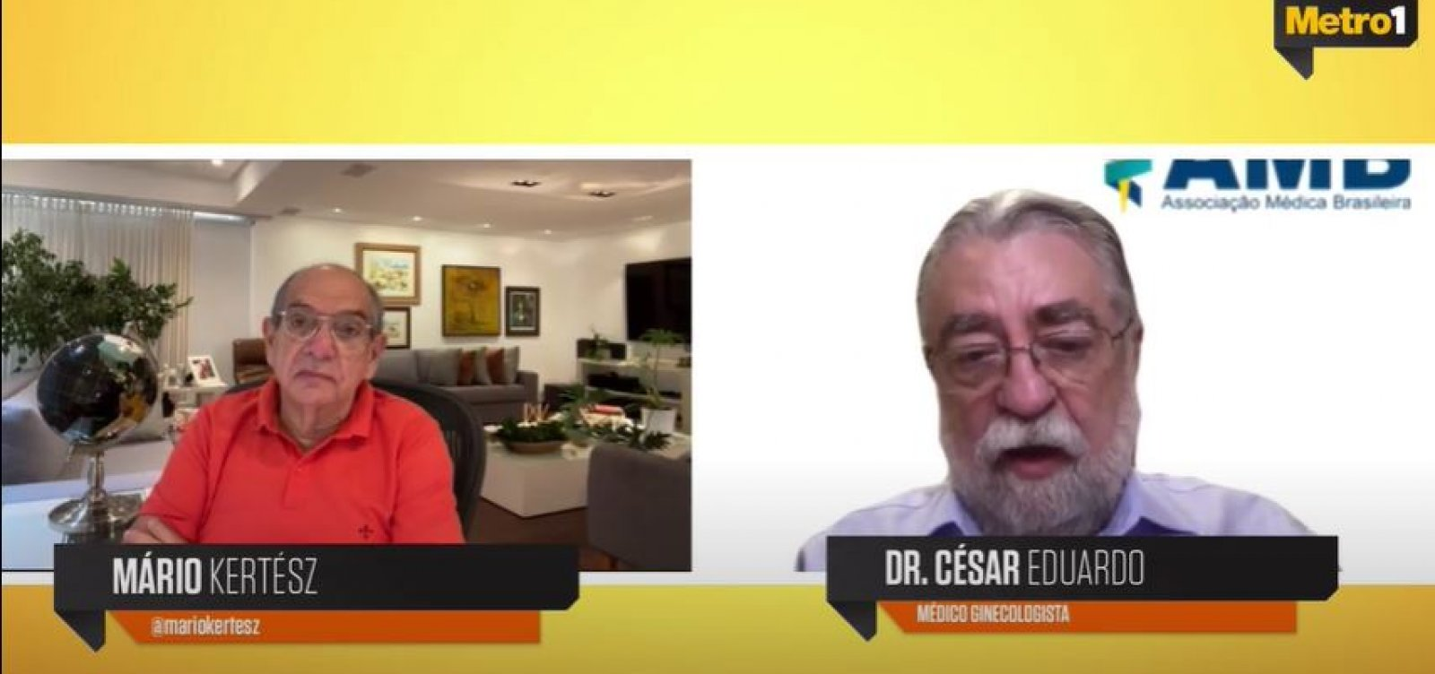 Medicina não pode seguir correntes ideológicas, diz presidente da Associação Médica do Brasil