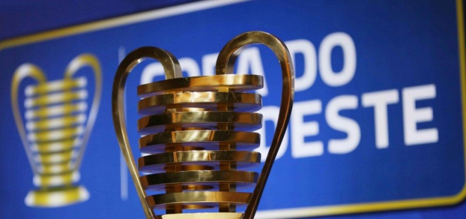 Copa do Nordeste tem todos os competidores definidos