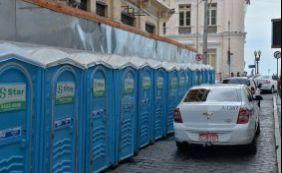 Circuito do Réveillon terá reforço de mais de 300 sanitários no Comércio