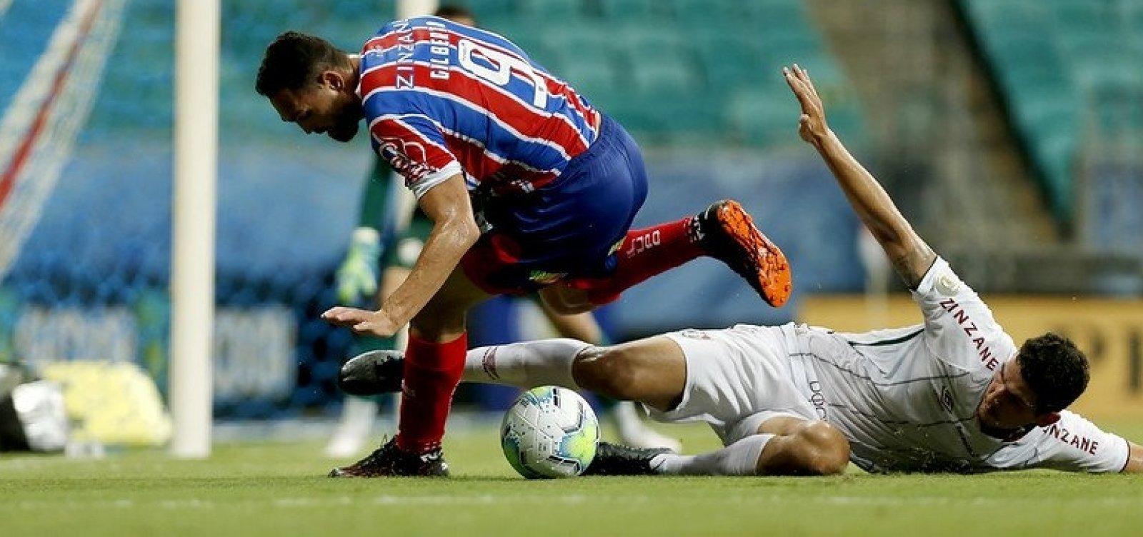 Bahia perde por 1 a 0 para o Fluminense e volta a ficar ameaçado pelo Z-4