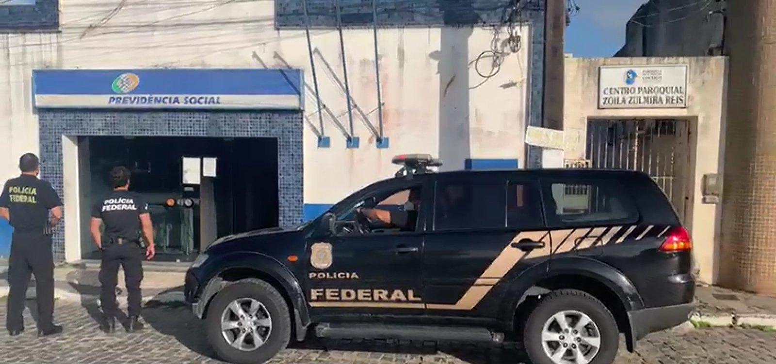 Sapeaçu: chefe de agência do INSS é preso por fraudar benefícios