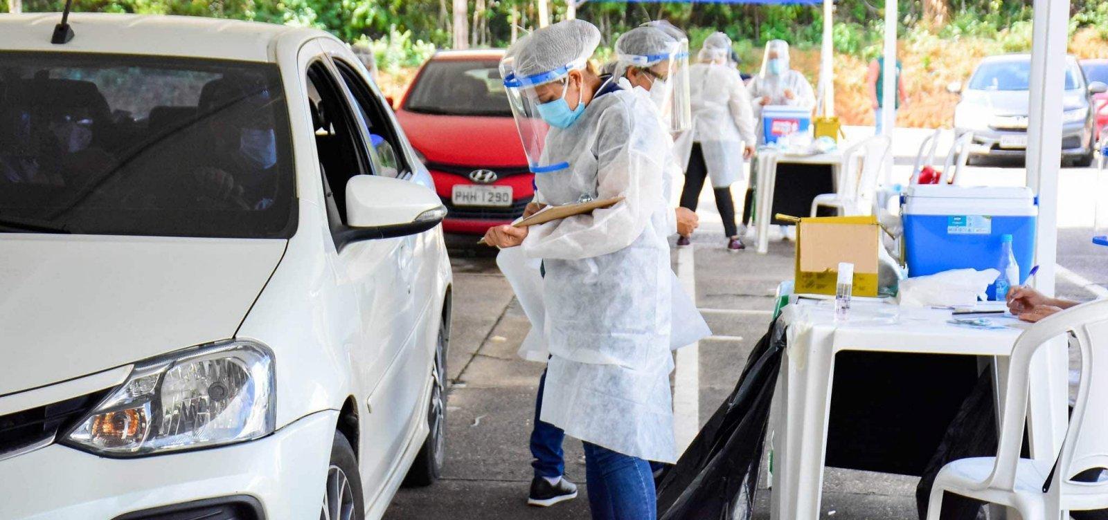 Feira de Santana suspende vacinação em drive-thru