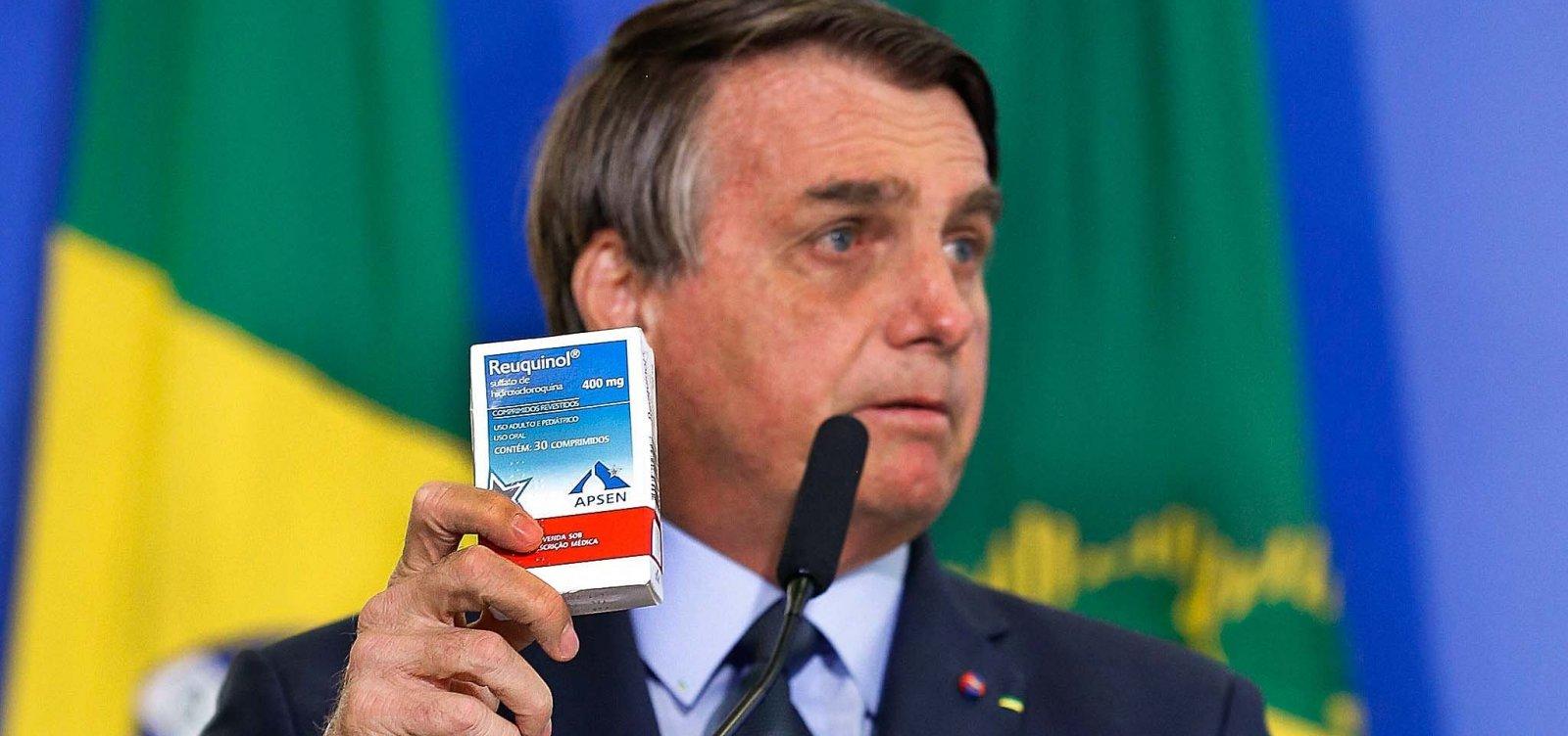 Sem eficácia para Covid-19, venda de cloroquina dobra e de ivermectina quintuplica em 2020