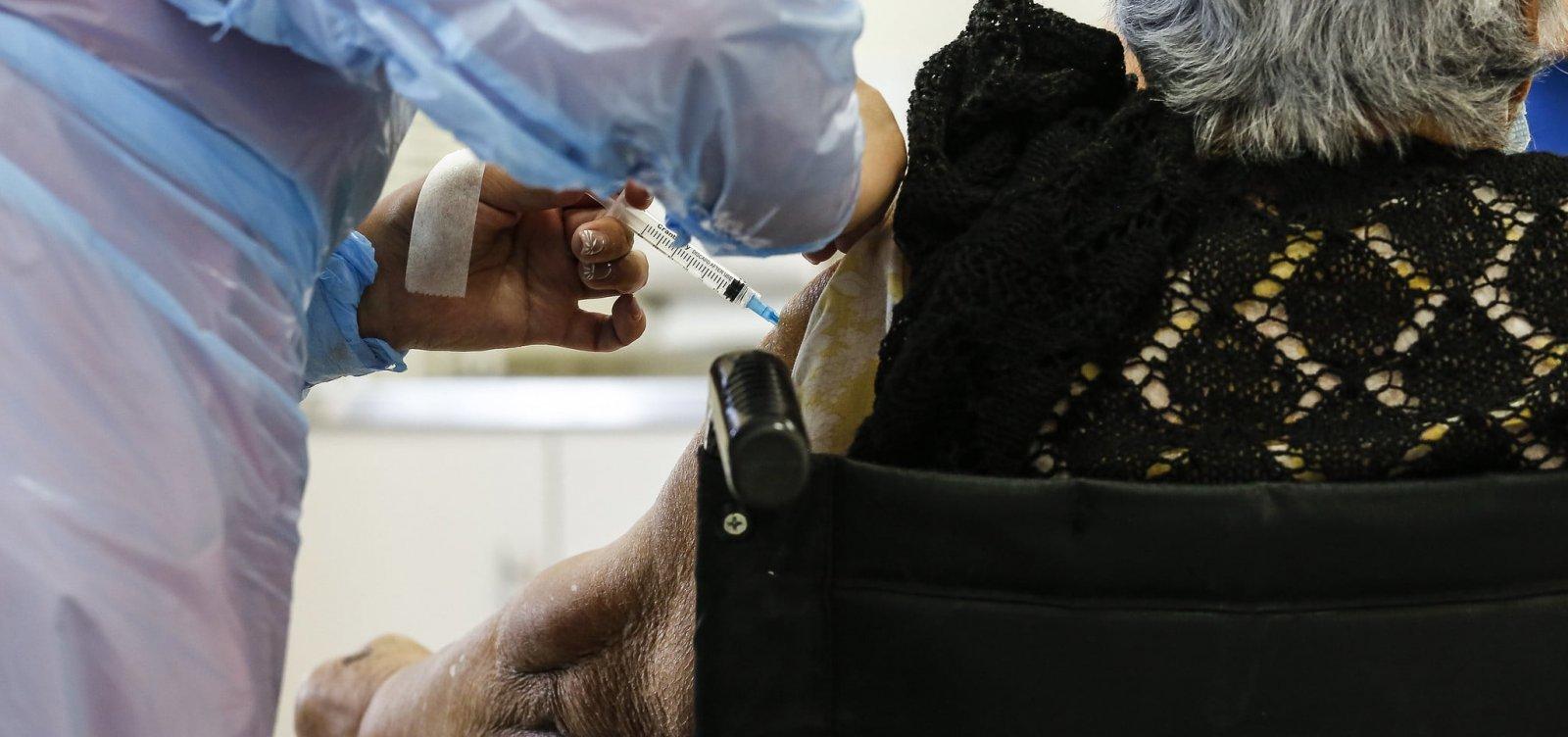 Rafael Jambeiro: prefeitura aplica apenas 3% das vacinas contra Covid-19