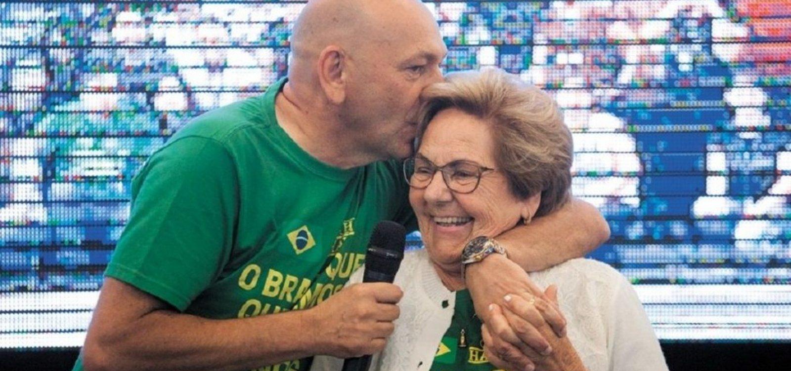 Morre mãe de Luciano Hang, da Havan, após complicações por Covid-19