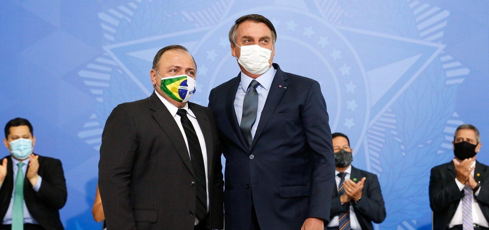 PGR inicia investigação sobre conduta de Bolsonaro e Pazuello em crise na saúde no AM e PA