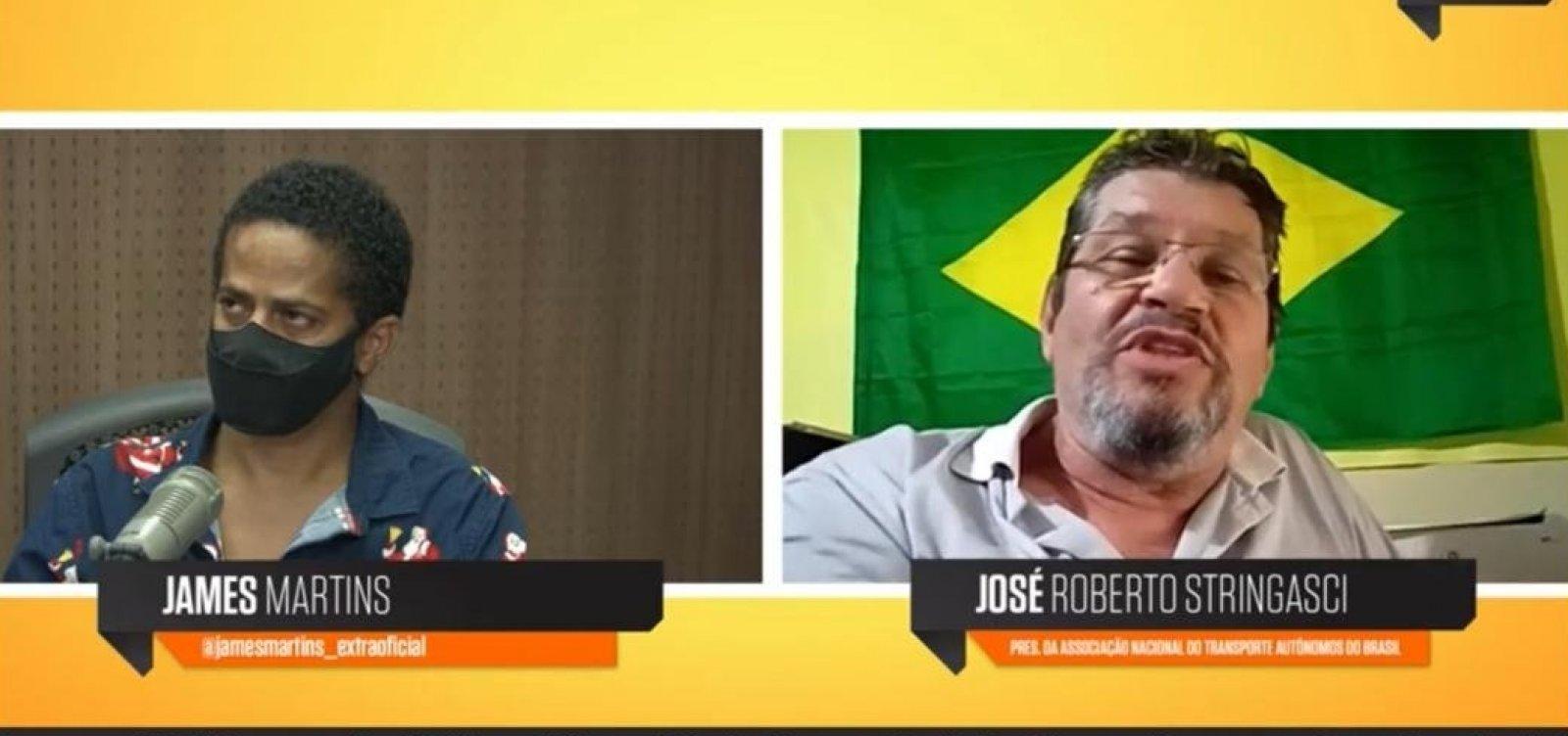 'Difícil ele ter apoio da categoria', diz representante dos caminhoneiros sobre Bolsonaro em 2022