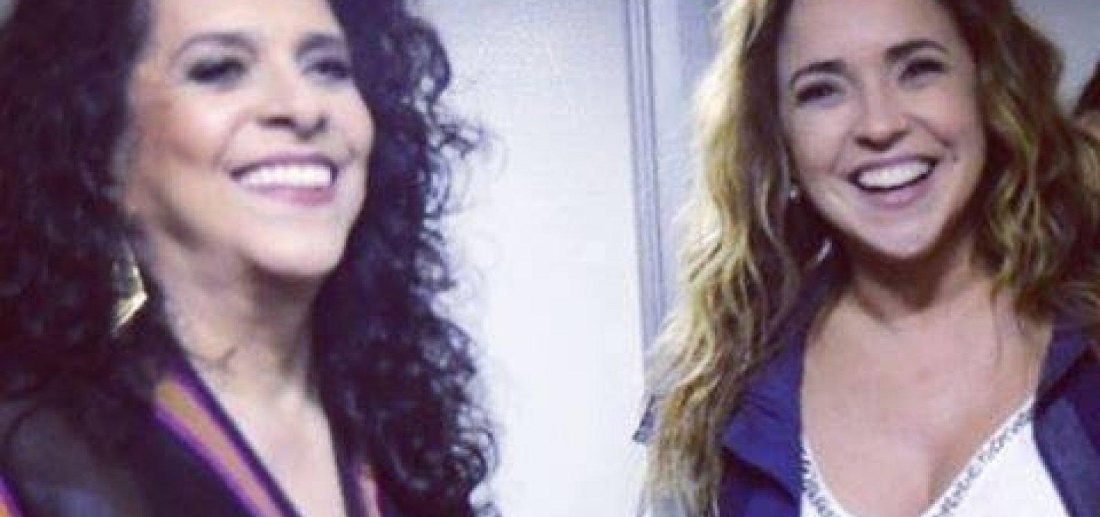 Em homenagem a Moraes Moreira, Daniela Mercury lança nova música com Gal Costa