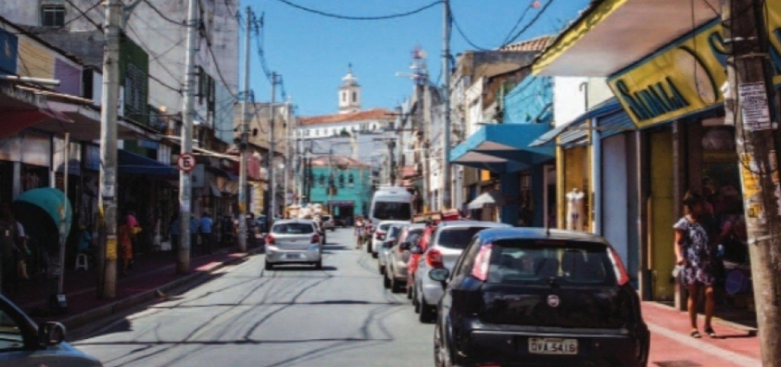 Pontos de táxi e ônibus são realocados devido a obras na Barroquinha