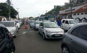 Movimento para embarque no ferryboat complica trânsito na Cidade Baixa