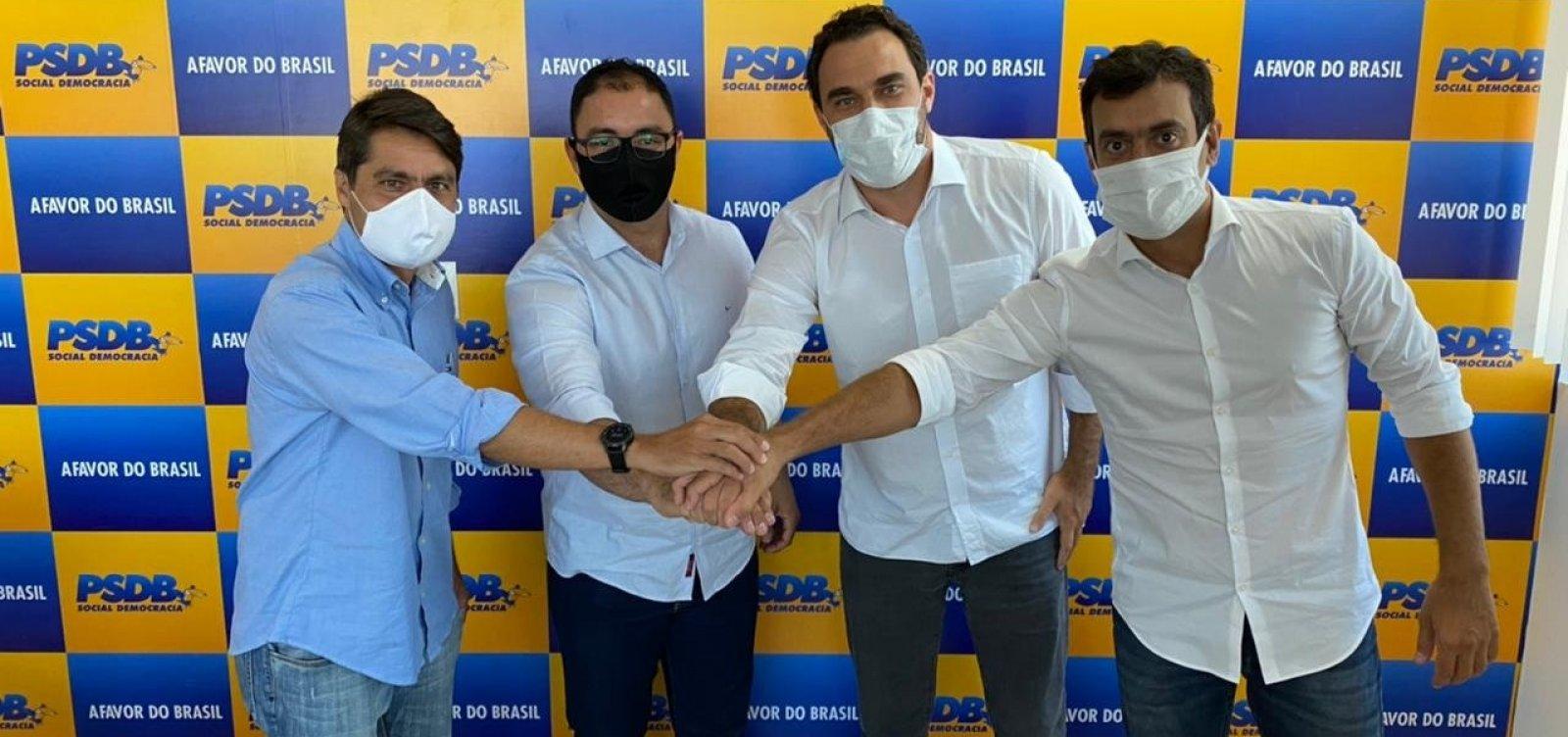 PSDB da Bahia filia ex-candidato a prefeito de Paulo Afonso