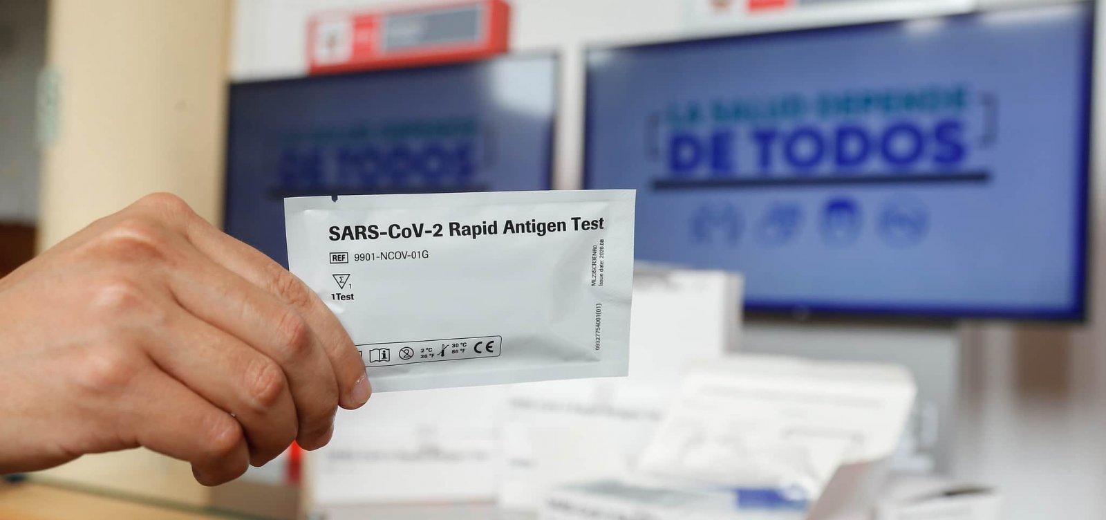 Bahia registra 3.270casos de coronavírus e 40 mortes em 24 horas