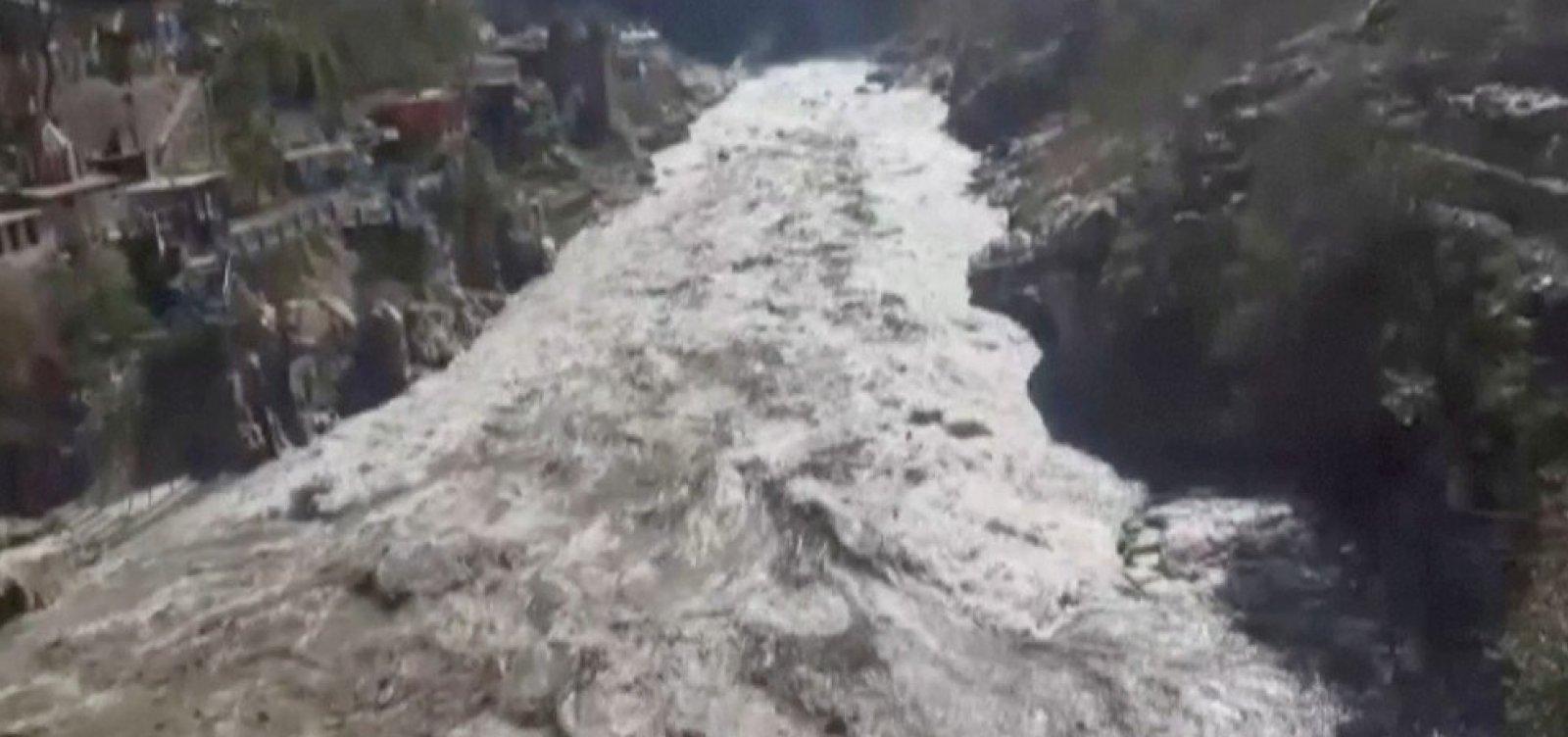 Rompimento de geleira no Himalaia pode ter causado 150 mortes, diz secretário-chefe