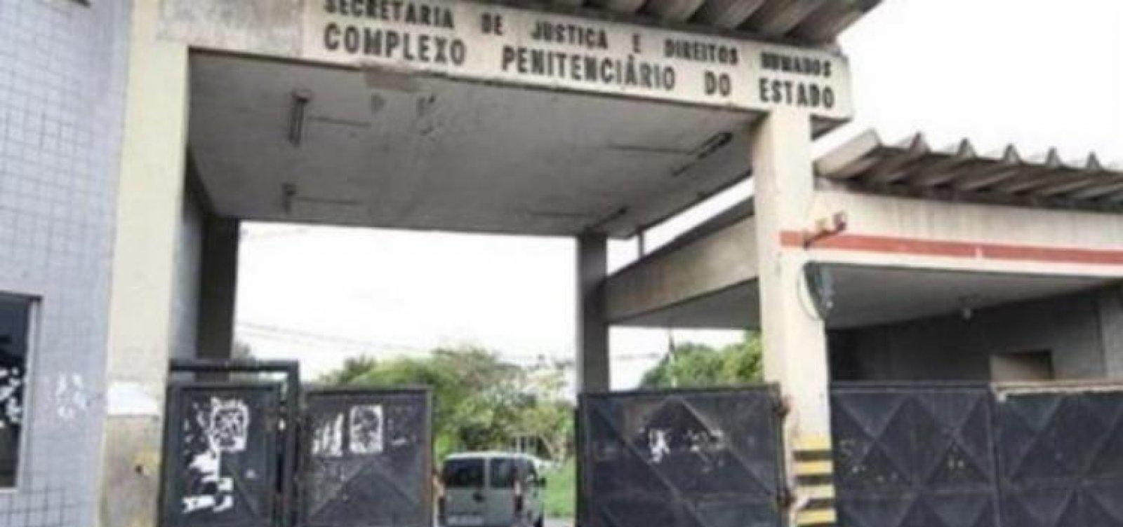 Detentos fogem do Complexo Penitenciário da Mata Escura