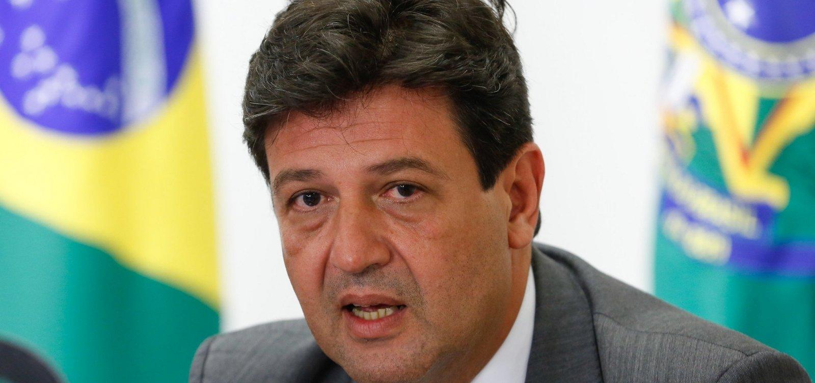 Após DEM se aproximar de Bolsonaro, Mandetta avalia deixar sigla