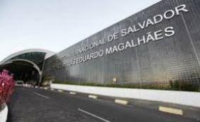 Funcionário do Aeroporto de Salvador fica em estado grave após acidente