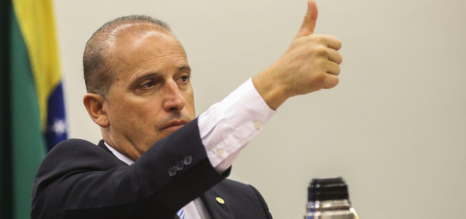 Bolsonaro anuncia troca do ministro da Cidadania, Onyx Lorenzoni, para Secretaria-Geral da Presidência
