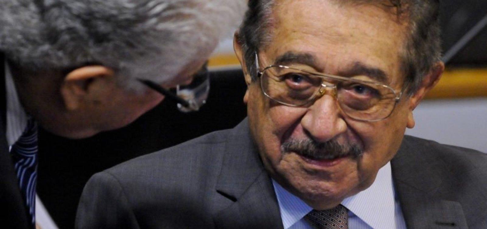 Morre pela Covid-19 senador mais velho do Congresso, José Maranhão