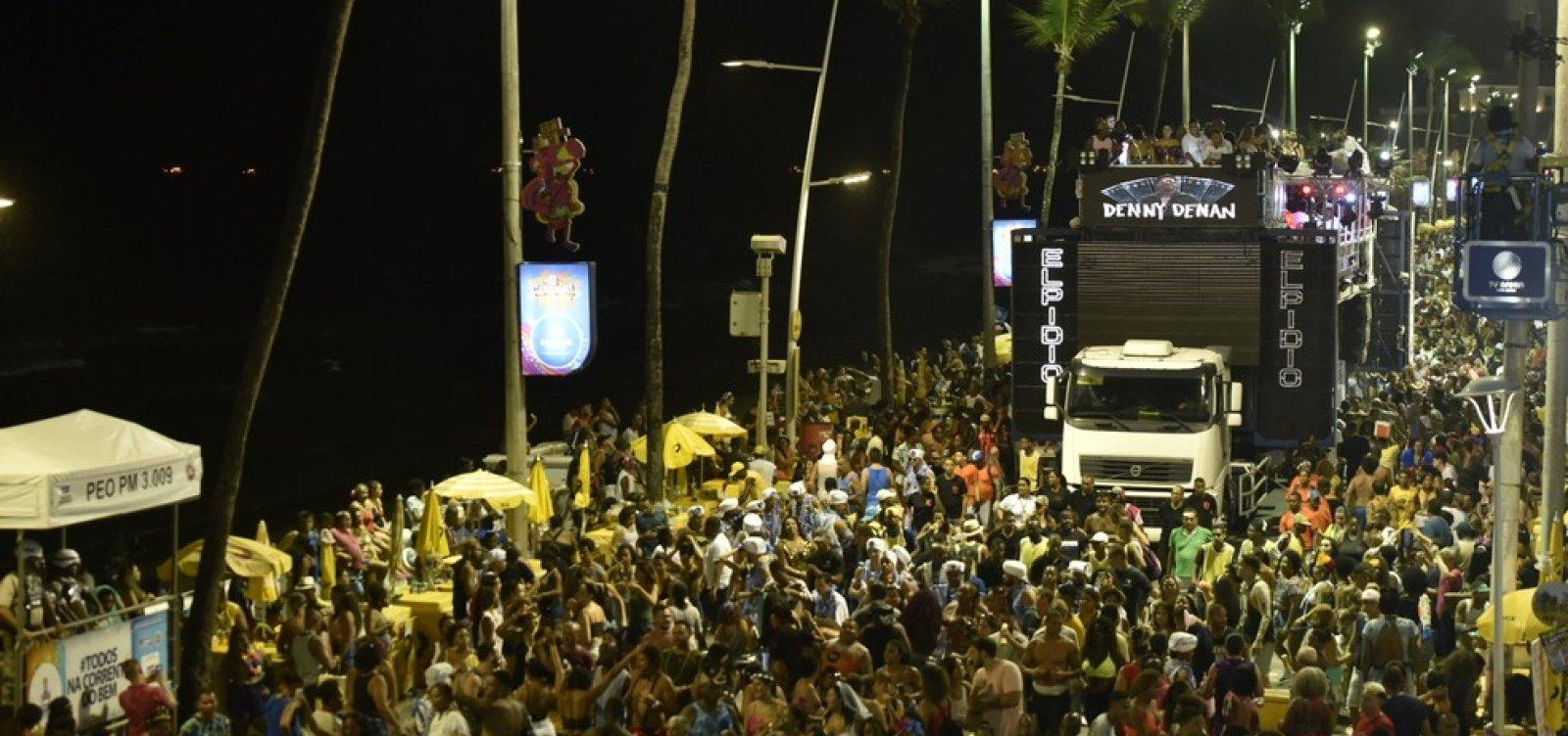 Carnaval 2021: cerca de R$ 1,7 bi deixarão de circular em Salvador, diz SEI