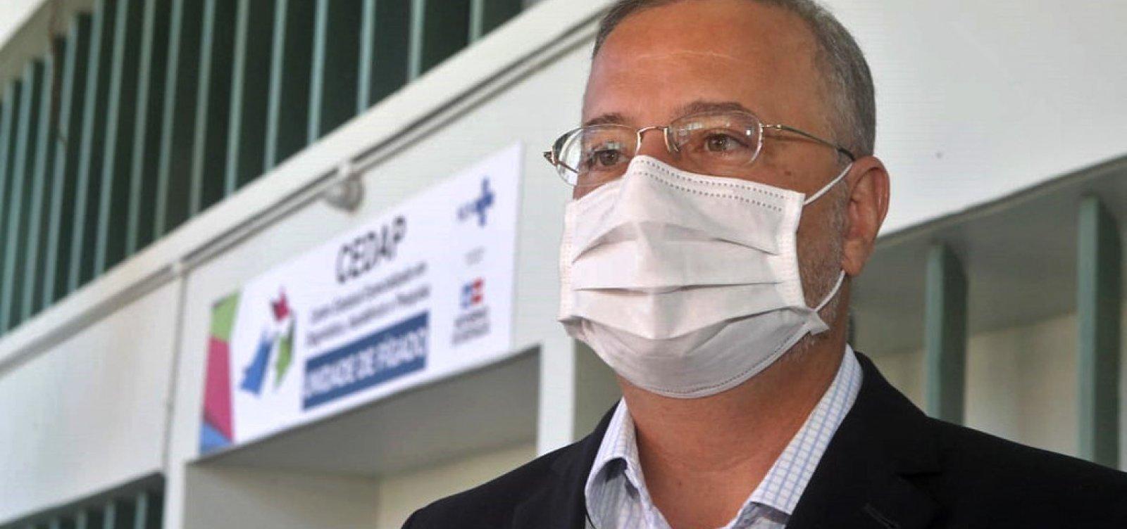 Secretário de Saúde da Bahia alerta para alta ocupação de leitos de UTI para Covid-19 no estado