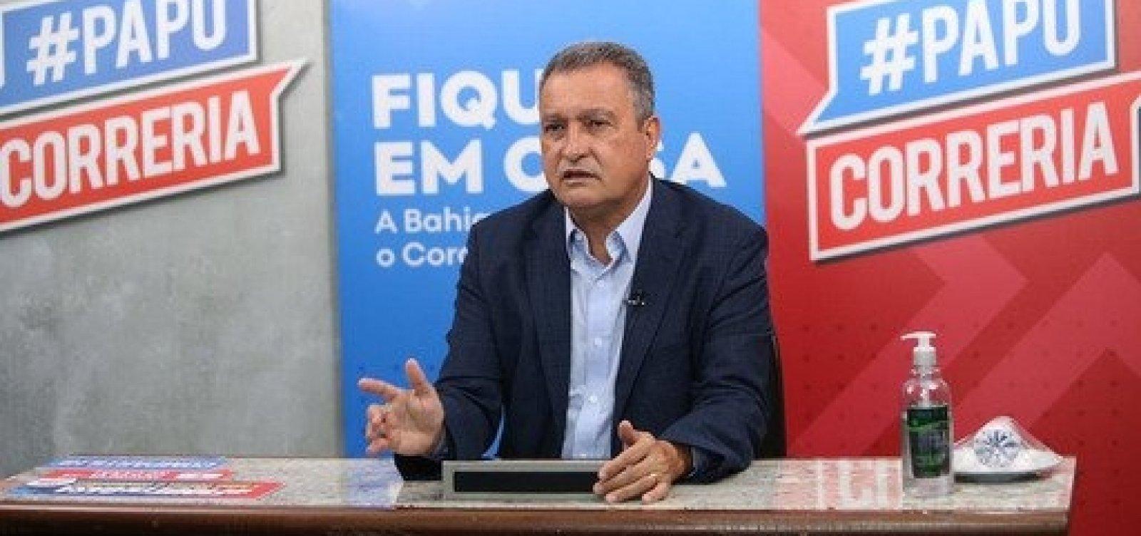 Rui Costa faz novo apelo para que baianos mantenham cuidados contra coronavírus