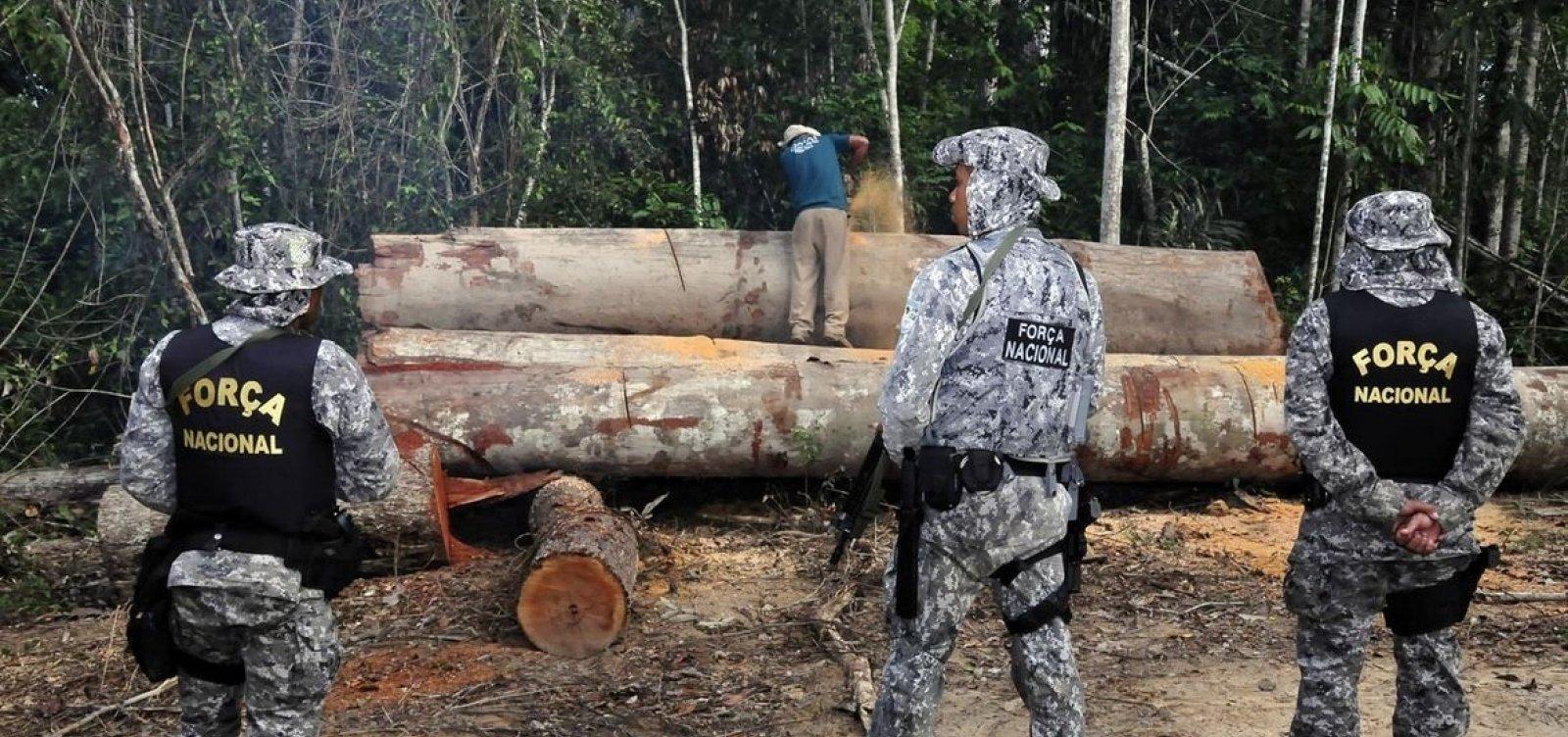 Governo decide retirar militares da Amazônia e limitar fiscalização a 11 cidades