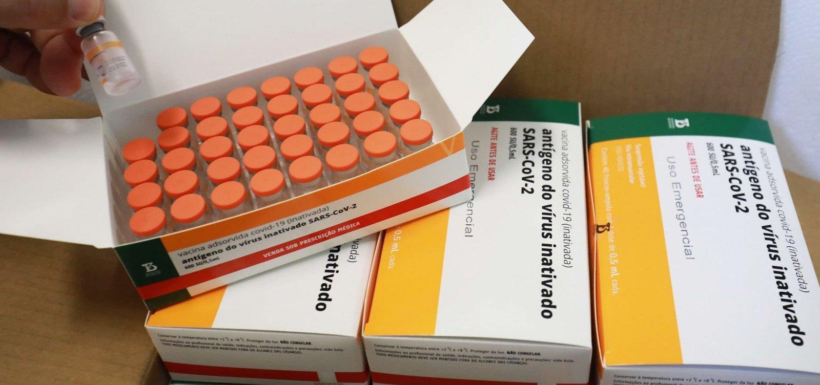 Butantan deve fornecer total de 100 milhões de doses da Coronavac ao Brasil até setembro