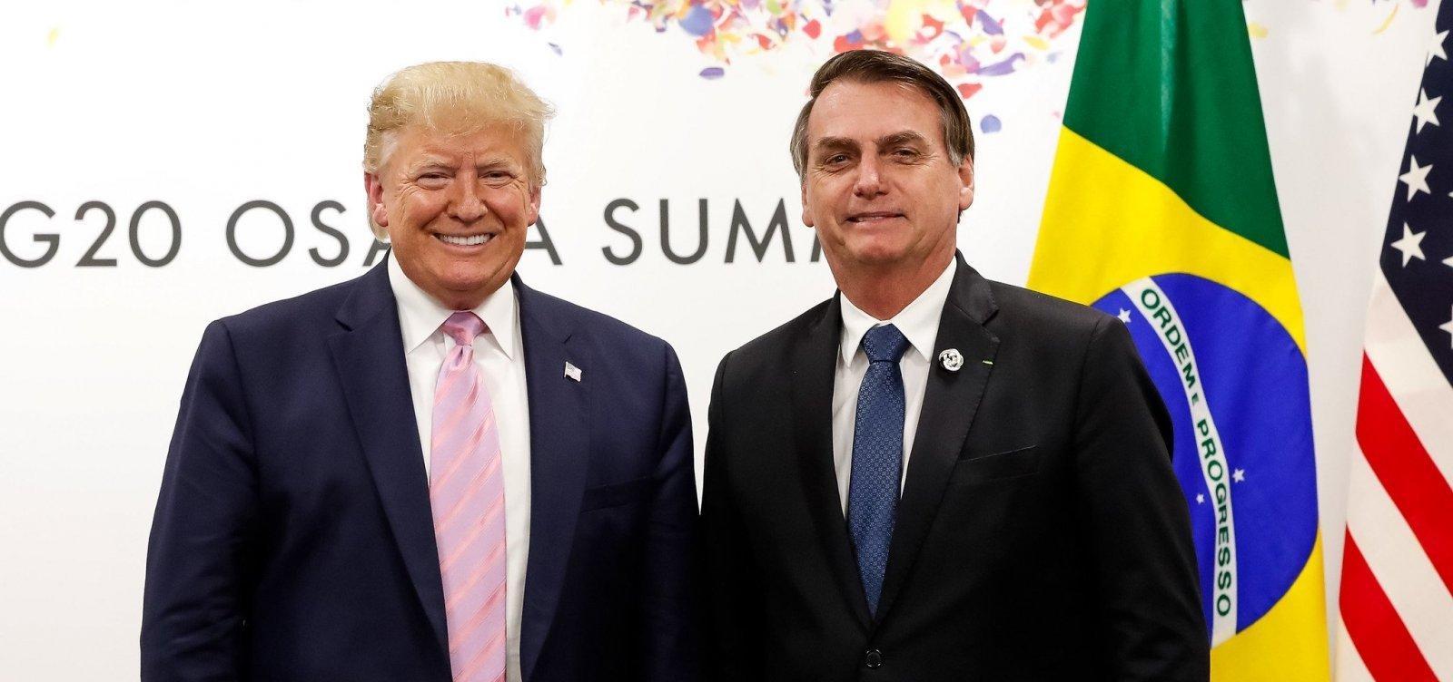 Bolsonaro diz acreditar que acordos assinados com Trump serão mantidos por Biden