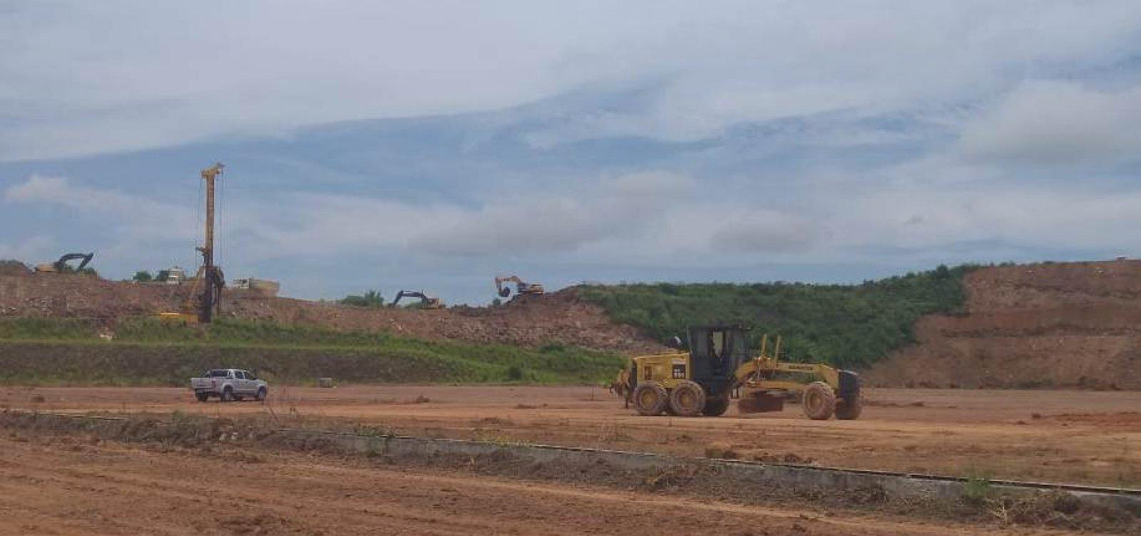 Construção da Nova Rodoviária de Salvador é iniciada no bairro de Águas Claras