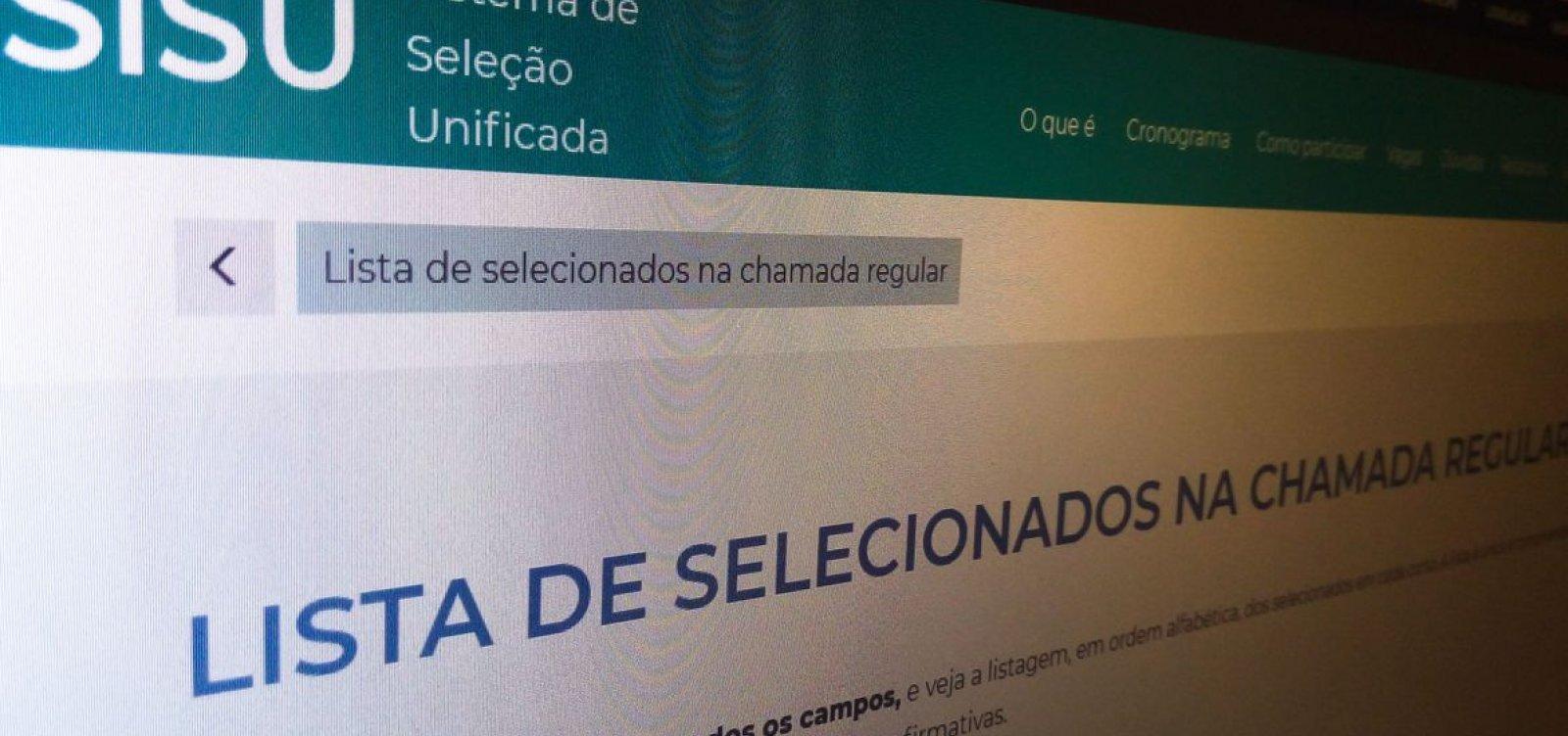 Ufba vai abrir mais de 6 mil vagas para o Sisu em 2021