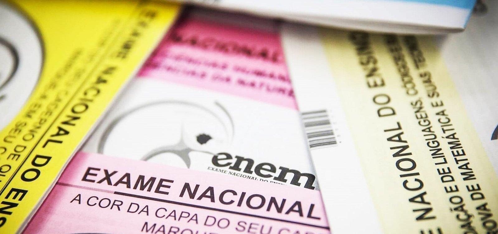 Inep divulga resultados dos pedidos de reaplicação do Enem impresso nesta sexta-feira