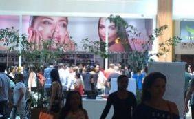 Assalto causa tumulto e idosa fica ferida no Salvador Shopping