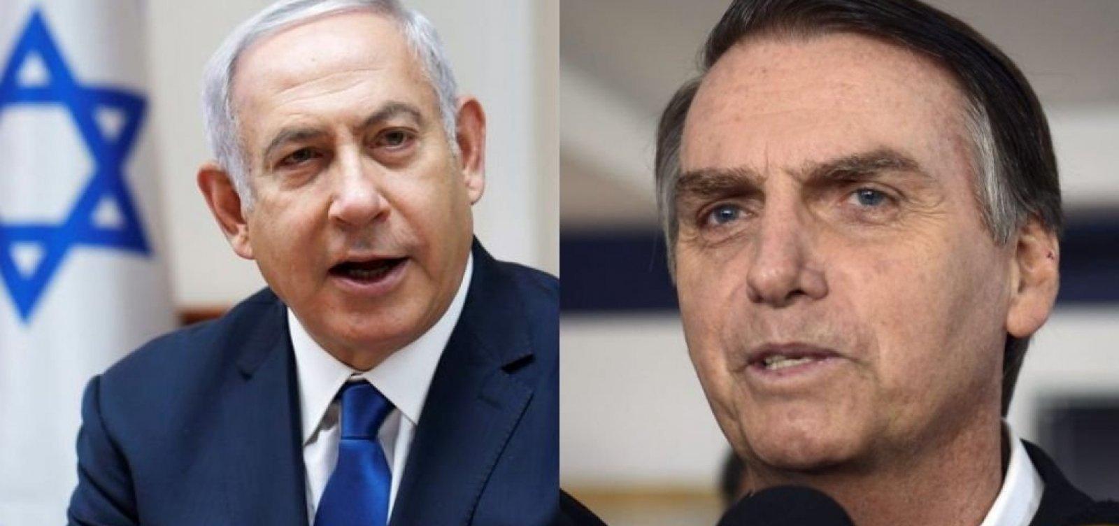 Bolsonaro conversa com primeiro-ministro de Israel sobre testes de novo medicamento contra covid-19