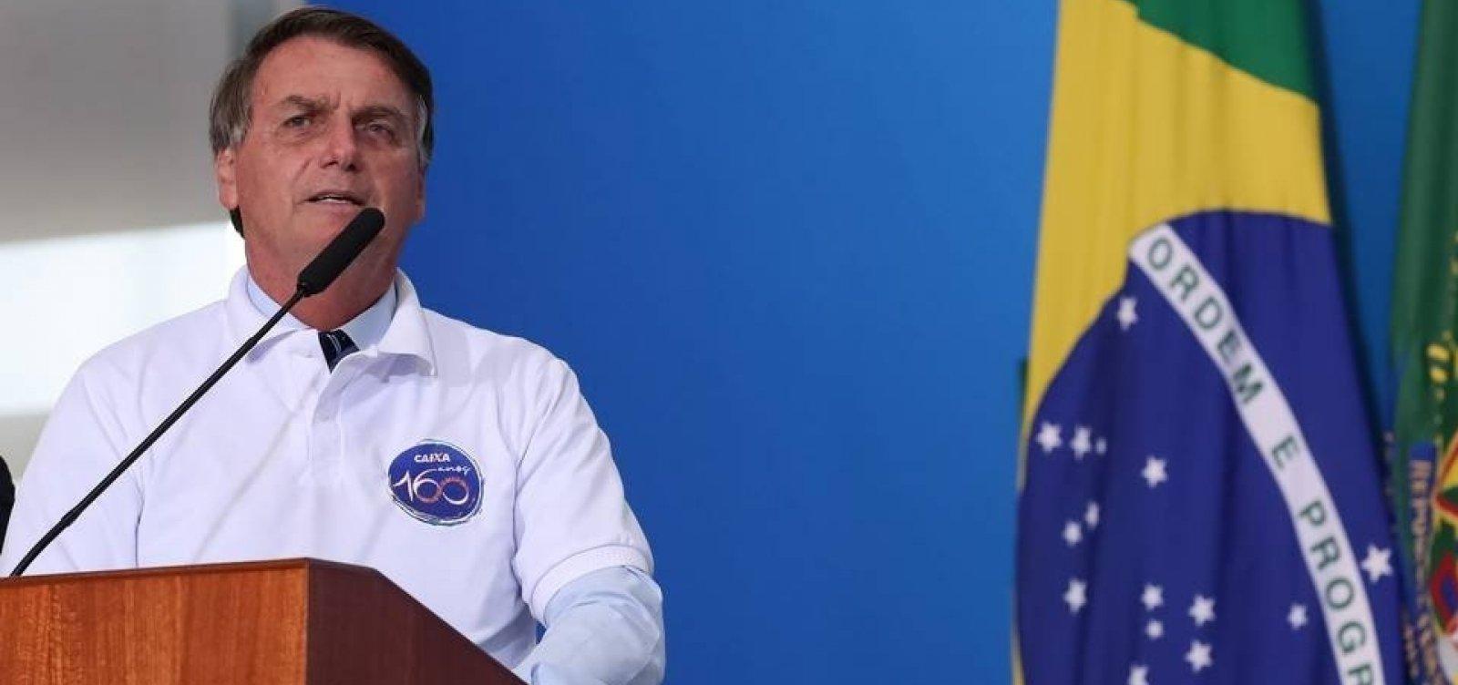 Bolsonaro mantém possibilidade de bloqueio de recursos à ciência e tecnologia