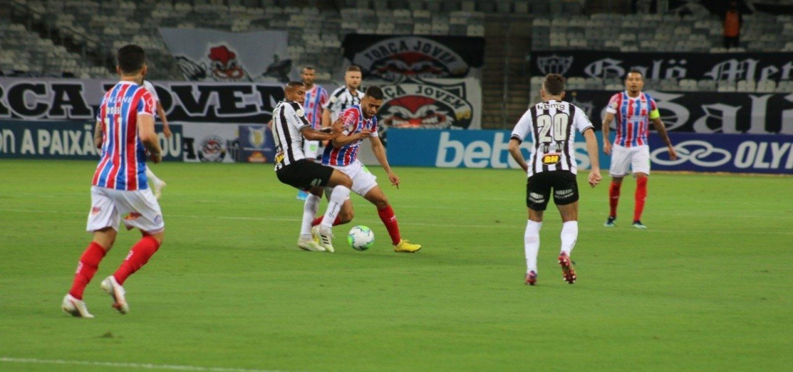 Bahia empata com o Atlético-MG fora de casa na Série A