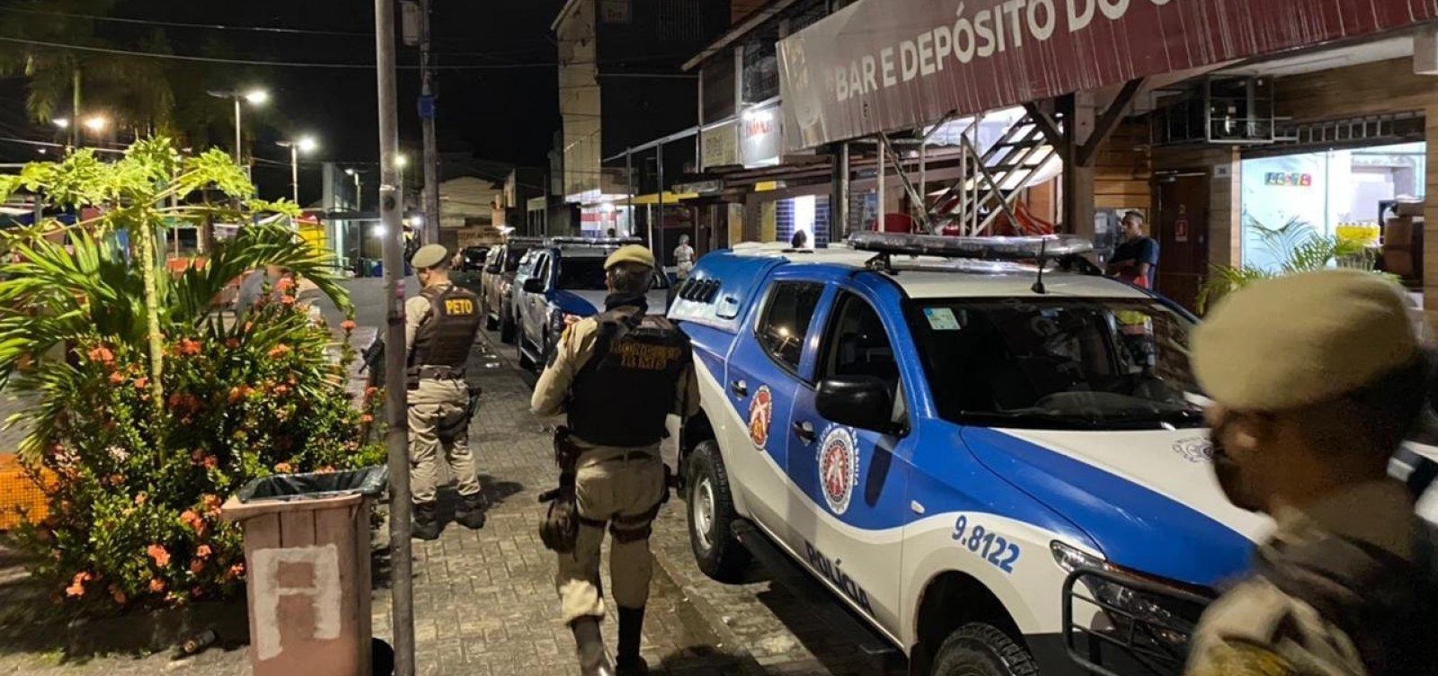 Polícia Militar encerra aglomerações na Região Metropolitana de Salvador na madrugada de sábado
