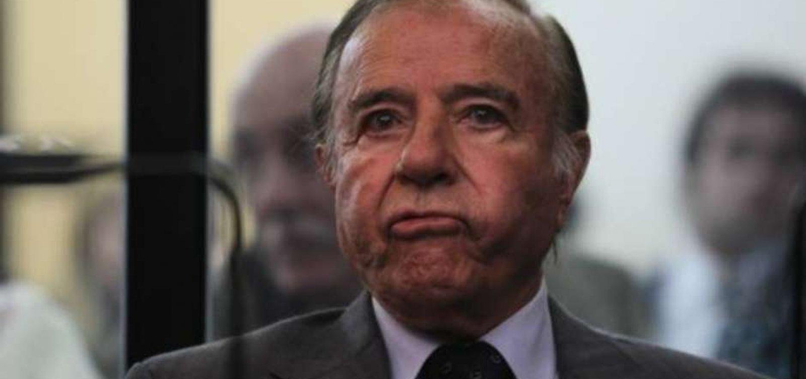 Ex-presidente da Argentina Carlos Menem morre aos 90 anos